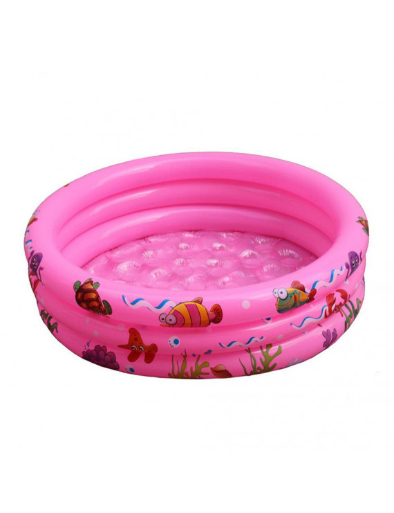 GadgetVLot Summer Baby Inflatable Round Swimming Basin Bathtub Outdoors Water Pool