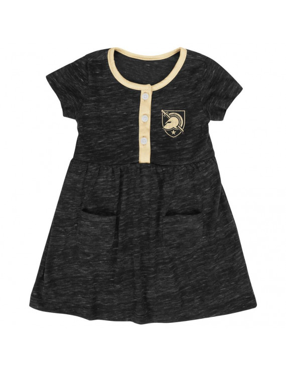 Infant Girls' Army Black Knights Dress Baby Clothes