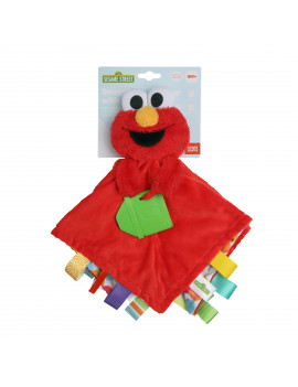 Bright Starts Sesame Street Snuggles with Elmo Baby's First Soothing Blanket, Ages 0-12 months