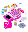 Cashier Toy Cash Register Playset - Pretend Play Set for Kids - Colorful Children's Supermarket Checkout Toy with Microphone & Sounds- Ideal Gift for Toddlers & Pre-schoolers