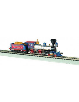 Bachmann 52702 HO Central Pacific 4-4-0 w/Wood Tender Load w/Sound & DCC