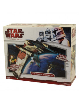 Star Wars Vehicles 2009 V-19 Torrent Starfighter