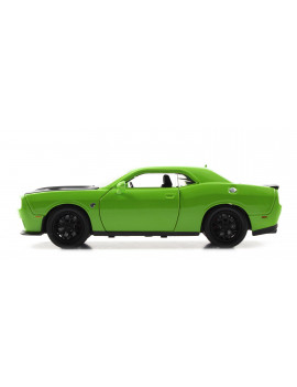 Bigtime Muscle Series: 2015 Dodge Challenger SRT Hellcat (Green) 1/24 Scale