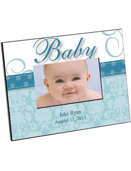 Personalized Baby Blue Frame