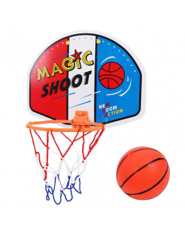 Children Plastic Basketball Hoop Toy Mini Inflatable Ball Pump Backboard Rim Kids Wall Game