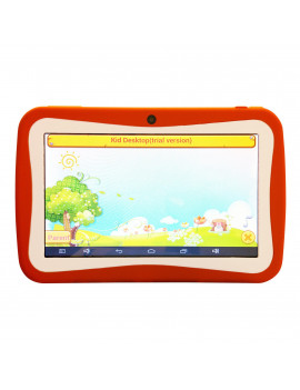 KIDS Tablet Wopad Android 4.4 Rock Chip 3126 Quad Core 8GB Multi Touch Screen- Orange