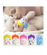 Cute Baby Silicone Teether Mitts Teething Mitten Glove Candy Wrapper Sound Toy Gifts