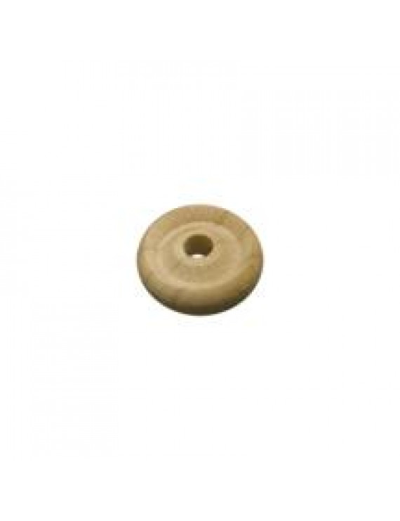 "40 Pcs 1/2"" Wood Toy Wheels 3/16"" thick USA MADE out of hardwood Hole size 1/8 Use a 1/8 diameter wood dowel for the axle"