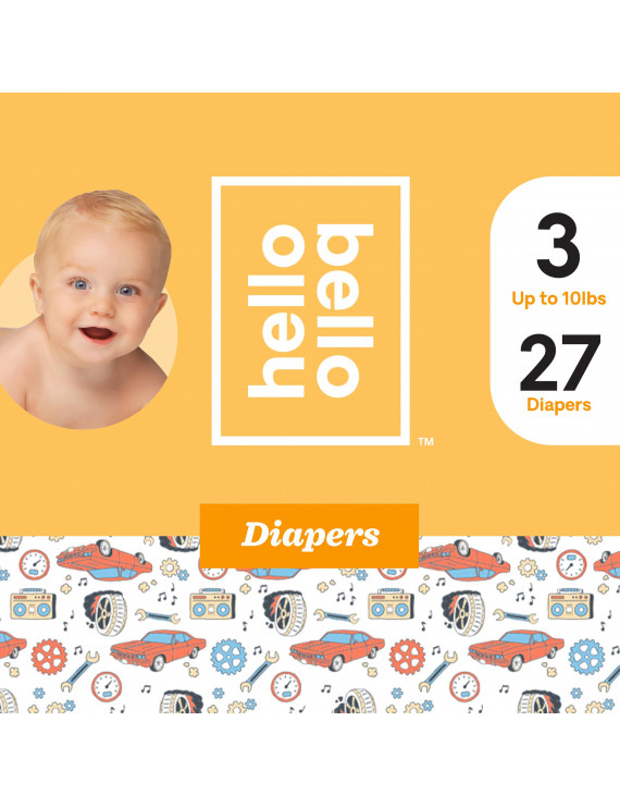 Hello Bello Diapers - Engine Revvers - Size 3 (27ct)