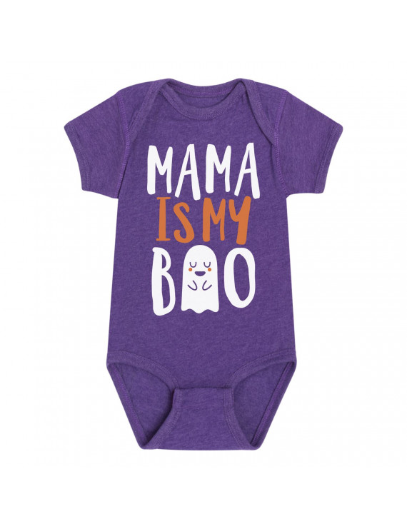 Mama Is My Boo - Baby One Piece