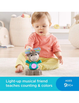 Fisher-Price Linkimals Musical Moose, Interactive moose toy introduces your baby to numbers, counting, and more By FisherPrice