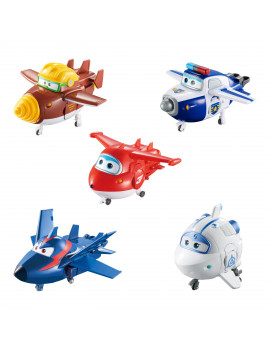 Super Wings Transforming Characters Collector's 5 Pack