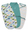 Summer Infant SwaddleMe Original 3-Pack Small - Origami Dino