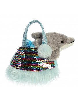 "Aurora - Pet Carrier - 7"" Shimmers Dolphin"