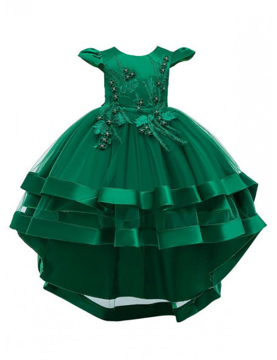 KidLuv Toddler Kids Girls Vintage Costume Princess Party Wedding Formal Dresses Gown