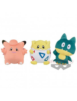 "Banpresto Pokemon Dekkai Korotto Manmaru Togepi 9"" Stuffed Plush"
