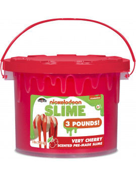 Cra-Z-Art Nickelodeon Very Cherry Scented Slime Bucket, 3 Pounds