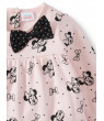 Disney Minnie Mouse Printed Peplum Fleece Top and Leggings, 2pc Outfit Set (Baby Girls)