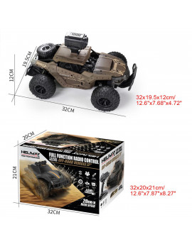 720P Camera 1/18 Remote Control Off-Road Car Electric Monster Truck Wifi Connection VR Mode Children Baby Toys