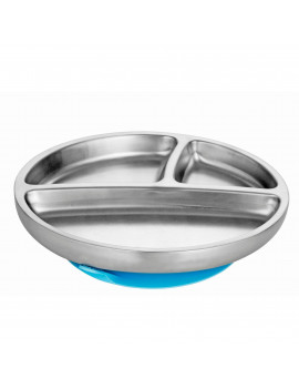 Avanchy Stainless Steel Suction Toddler Plate