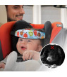 3PCS Baby Carseat Head Support, Safety Stroller Car Seat Sleep Nap Aid Holder for Toddler Child Children Kids Infant