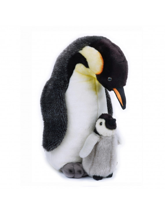 Lelly - National Geographic Plush, Penguin with Baby
