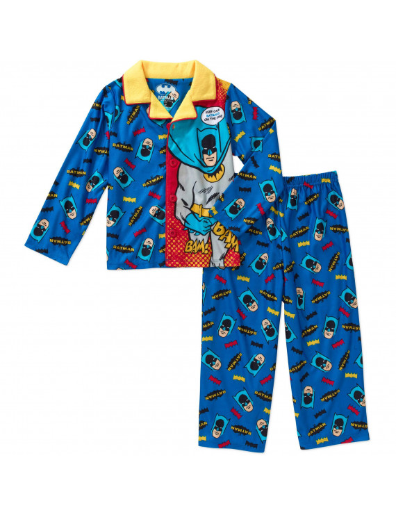 "Little Boys' Toddler ""On the Case"" 2-Piece Pajamas (Sizes 2T - 4T)"