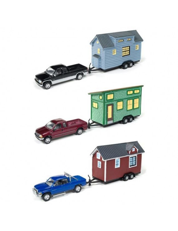 6 - Piece 2A - Johnny Lightning Tiny Houses Release