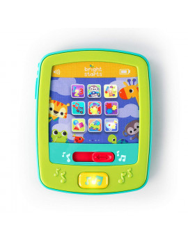 Lights & Sounds FunPad Musical Toy - Introduce Shapes, Colors, Numbers, Introduces baby to shapes, colors, numbers, and more By Bright Starts