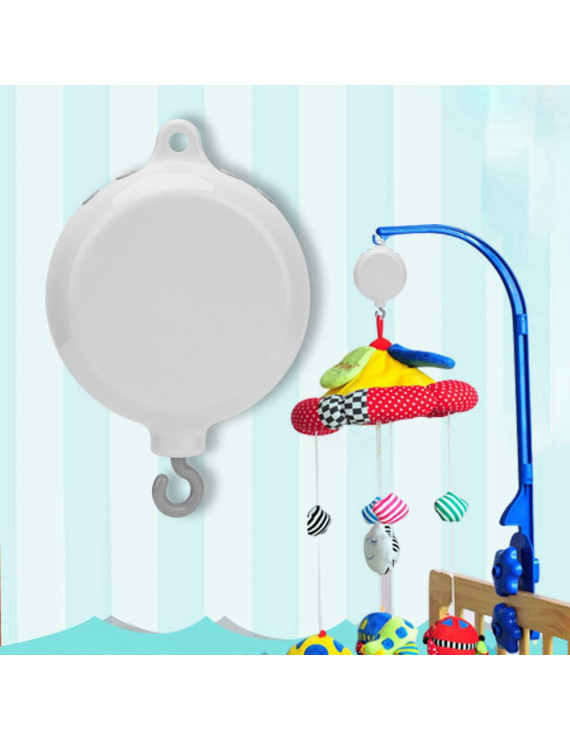 OTVIAP Baby Infant Crib Bed Hanging Musical Bell Electric Music Box 12pcs Sweet Melodies, Baby Bed Music Box,Crib Bed Bell