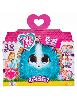 Little Live Pets Scruff-a-Luvs™ Plush Mystery Electronic Real Rescue Pet