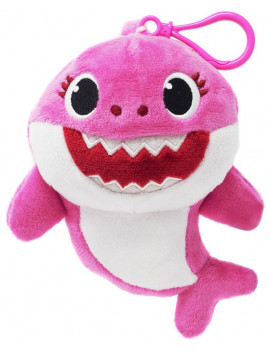 Pinkfong Baby Shark Mommy Shark Plush Clip On [Pink]