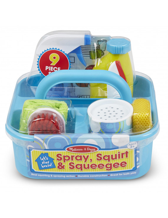 Melissa & Doug - Let's Play House! Spray, Squirt & Squeegee Play Set