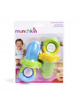 Munchkin Fresh Food Feeder, 2pk, Blue/Green