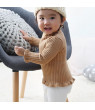Toddler Baby Girl Turtleneck Sweater Long Sleeve Pullover Tops Blouse 0-36M