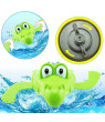Outtop Baby Bath Swimming Toy Crocodile Wind Up Clockwork Play Educational Toy For Kids