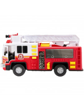 Adventure Force Utility Vehicle Light & Sound Fire Truck