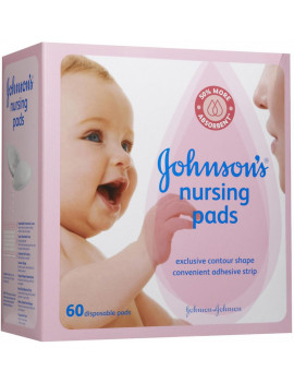 2 Pack - JOHNSON'S Nursing Pads 60 Each