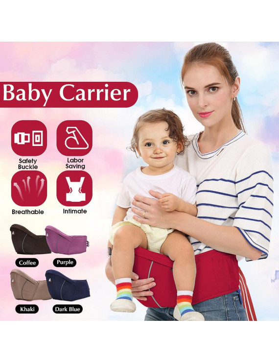 Unisex Baby Carrier Waist Stool Walker Kids Sling Hold Hipseat Belt Infant Hip Seat Adjustable