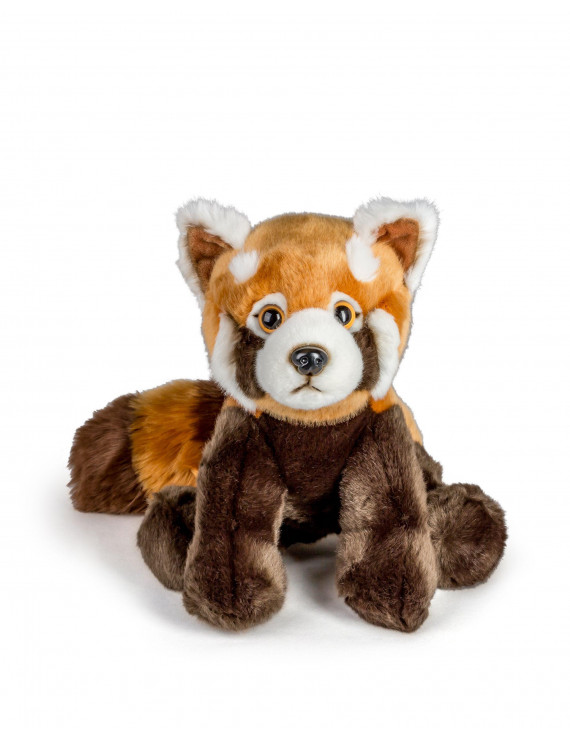 "Wildlife Tree 12"" Stuffed Red Panda Plush Floppy Animal Kingdom Collection"