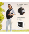 Contours Love 3 Position Baby Carrier, Easy to Wear, Ergonomic Fit, No Back Buckle, No Infant Insert Needed