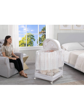 Delta Children Soothe and Glide Bassinet, Illusions