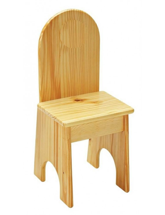 Easy to Clean Solid Back Kids Chair (Lavender)
