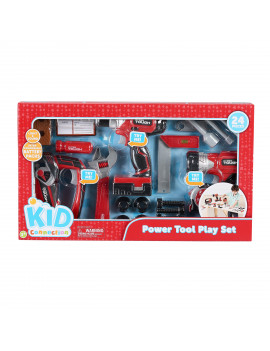 Kid Connection Power Tool Play Set, 24 Pieces