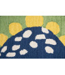 Rizzy Home Dinosaur Green 3' x 5' Hand-Tufted Area Rug