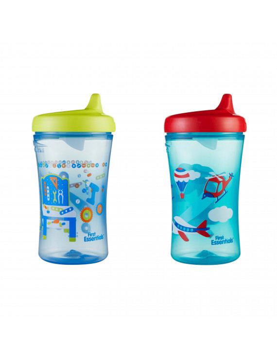 First Essentials by NUK Hard Spout Sippy Cup, 10 oz, 2-Pack