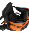 Clevr Deluxe Baby Backpack Hiking Cross Country Lightweight Carrier w/ Stand and Sun Shade Visor, Orange