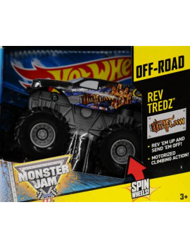 Rev Tredz 2011 Hot Wheels Monster JamSPECTRAFLAMES #21/80 BONE SHAKER 1:64 Scale Collectible Truck with Monster Jam TATTOO