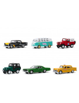 """""""Garbage Pail Kids"""" Series 2, 6 piece Set 1/64 Diecast Model Cars by Greenlight"""
