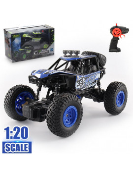 48KM/H 1/20 Scale 2WD RC Monster Truck Off-Road Vehicle Remote Control Car